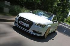 KW Gewindefahrwerke für die neue Audi A3 Stufenhecklimousine
