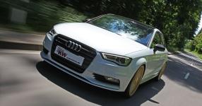 KW Gewindefahrwerke f�r die neue Audi A3 Stufenhecklimousine