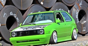 Golf II in kawasakigr�n