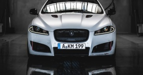 Jaguar XF in Diamond White