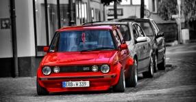 VW GOLF I (17) 09-1983 von Redsideoflife  VW, GOLF I (17), 2/3 Türer  Bild 792178