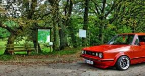 VW GOLF I (17) 09-1983 von Redsideoflife  VW, GOLF I (17), 2/3 Türer  Bild 792250
