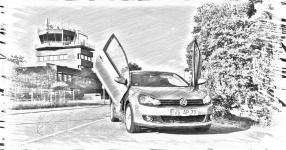 VW GOLF VI (5K1) 10-2009 von Skihasi  VW, GOLF VI (5K1), 2/3 Türer  Bild 791464