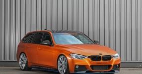 BMW 328i mit Satin Canyon Copper-Folierung: Unser Showcar setzt auf Qualität  bmw, 3er, 328i, touring, f31, tuning, carwrapping  Bild 795656