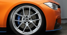 BMW 328i mit Satin Canyon Copper-Folierung: Unser Showcar setzt auf Qualität  bmw, 3er, 328i, touring, f31, tuning, carwrapping  Bild 795659