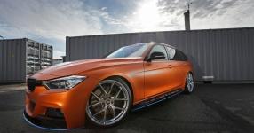 BMW 328i mit Satin Canyon Copper-Folierung: Unser Showcar setzt auf Qualität  bmw, 3er, 328i, touring, f31, tuning, carwrapping  Bild 795663