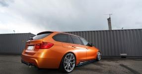 BMW 328i mit Satin Canyon Copper-Folierung: Unser Showcar setzt auf Qualität  bmw, 3er, 328i, touring, f31, tuning, carwrapping  Bild 795664