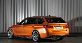 BMW 328i mit Satin Canyon Copper-Folierung: Unser Showcar setzt auf Qualität  bmw, 3er, 328i, touring, f31, tuning, carwrapping  Bild 795666