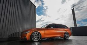 BMW 328i mit Satin Canyon Copper-Folierung: Unser Showcar setzt auf Qualität  bmw, 3er, 328i, touring, f31, tuning, carwrapping  Bild 795667