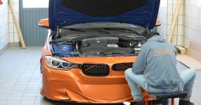 BMW 328i mit Satin Canyon Copper-Folierung: Unser Showcar setzt auf Qualität  bmw, 3er, 328i, touring, f31, tuning, carwrapping  Bild 795931