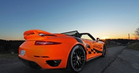 Das Porsche 911 Turbo S Cabrio