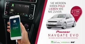 Pioneer NAVGATE EVO: Das Infotainment-Upgrade für den VW Polo 6C!  VW Polo 6C, Pioneer, Navi, NAVGATE EVO  Bild 808105