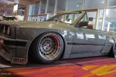 BMW E30 Cabrio im Rocket Bunny Trimm