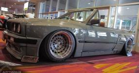 BMW E30 Cabriolet im Rocket Bunny Trimm