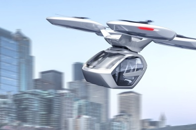 Elektroauto oder Drohnen-Taxi?