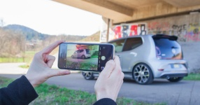 VW up! GTI auf Kurvenjagd  vw, up, up gti, gti, st suspensions, gewindefedern, gewindefahrwerk  Bild 815691