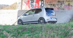 VW up! GTI auf Kurvenjagd  vw, up, up gti, gti, st suspensions, gewindefedern, gewindefahrwerk  Bild 815692