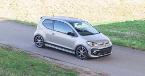 VW up! GTI auf Kurvenjagd  vw, up, up gti, gti, st suspensions, gewindefedern, gewindefahrwerk  Bild 815693