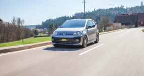 VW up! GTI auf Kurvenjagd  vw, up, up gti, gti, st suspensions, gewindefedern, gewindefahrwerk  Bild 815695