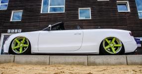 Ein Audi A5 Cabriolet auf Strandtour  Audi, A5 Cabrio, Cabriolet, S-Line  Bild 815843