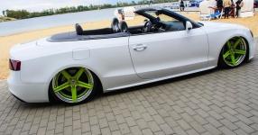 Ein Audi A5 Cabriolet auf Strandtour  Audi, A5 Cabrio, Cabriolet, S-Line  Bild 815848
