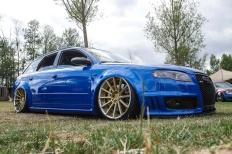 Blaues Kraftpaket: Audi RS4