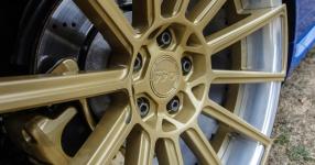 Blaues Kraftpaket: Audi RS4  Audi, RS4, Schmiederäder, Airride  Bild 815859
