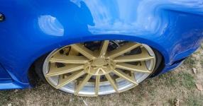Blaues Kraftpaket: Audi RS4  Audi, RS4, Schmiederäder, Airride  Bild 815862