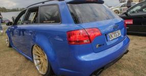Blaues Kraftpaket: Audi RS4  Audi, RS4, Schmiederäder, Airride  Bild 815865