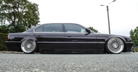 Nobel-Hobel mit V8: BMW E38 in der 740i-Version  BMW, E38, 740i, 7er, Bimmer  Bild 815869
