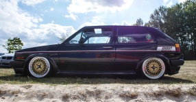 A Classic and he knows it: VW Golf II 16V