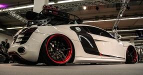 Audi R8 auf Luft und Vossen Wheels!
