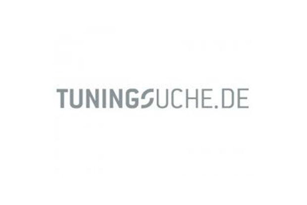 Thumbnail TUNINGSUCHE.DE Logo Aufkleber in silber